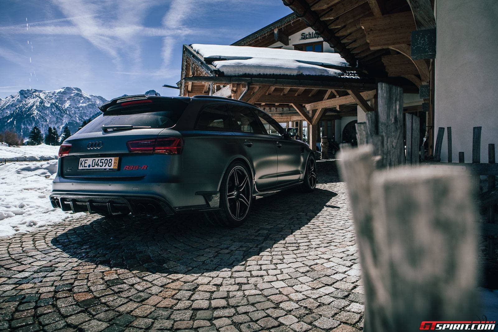 2015 Abt Audi Rs6 R Wagon Cars Black Matt Modified