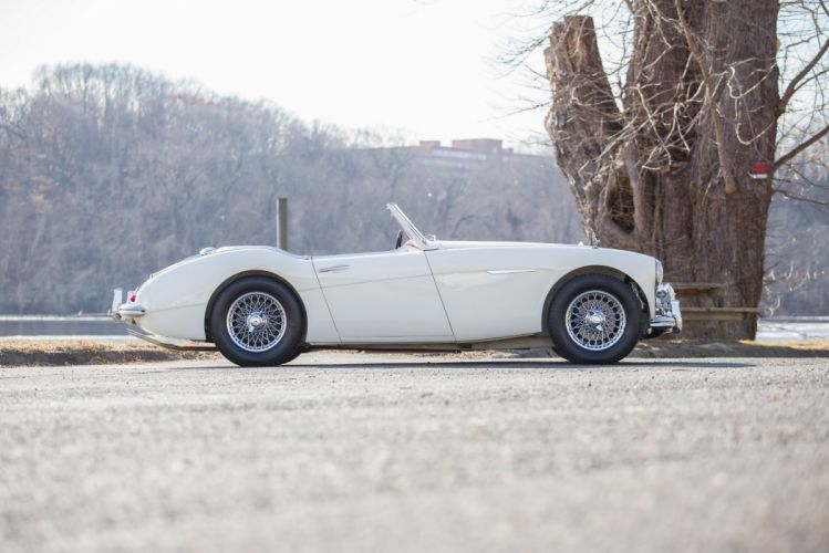 1961 Austin Healey 3000 BT7 MkII cars classic roadster wallpaper