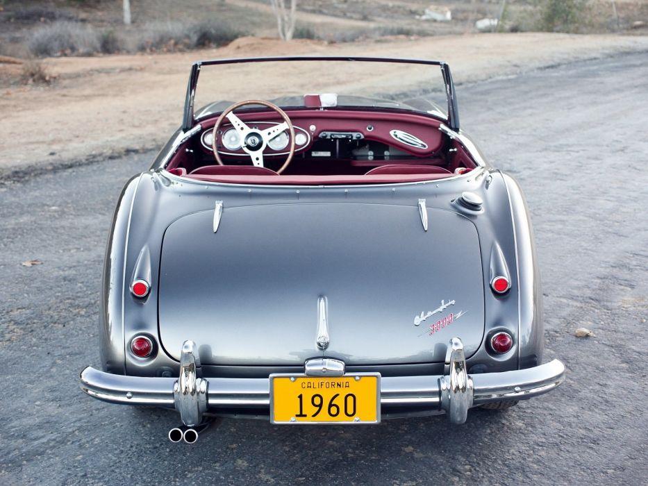 1959 Austin Healey 3000 MkI cars classic roadster wallpaper