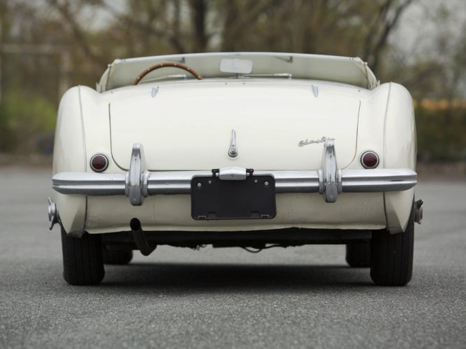 1953 Austin Healey 100 NB1 cars classic roadster wallpaper