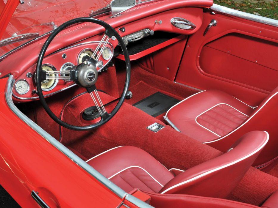 1956 Austin Healey 100 NB4 cars classic roadster wallpaper