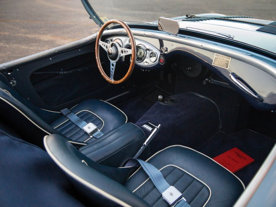 1955 Austin Healey 100M Le-Mans Roadster NB6 cars classic roadster wallpaper