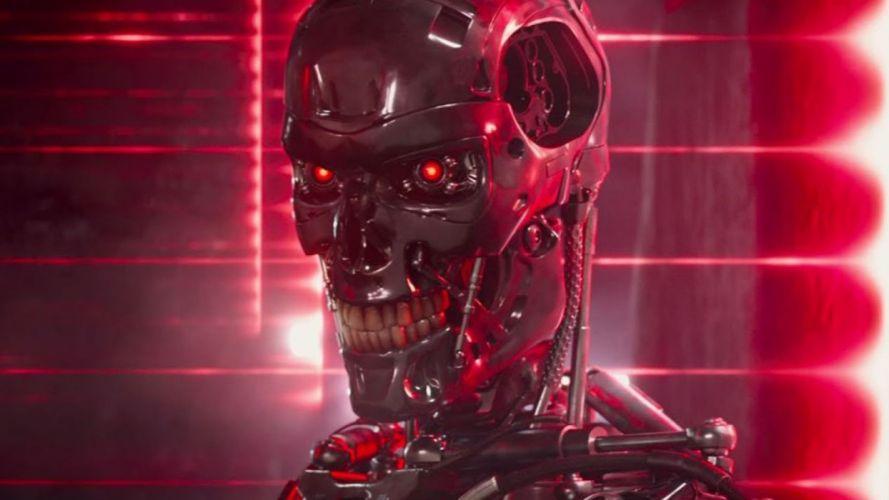 TERMINATOR GENISYS sci-fi futuristic action fighting warrior robot cyborg 1genisys wallpaper