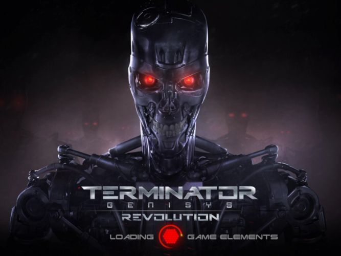 TERMINATOR GENISYS sci-fi futuristic action fighting warrior robot cyborg 1genisys poster revolution wallpaper