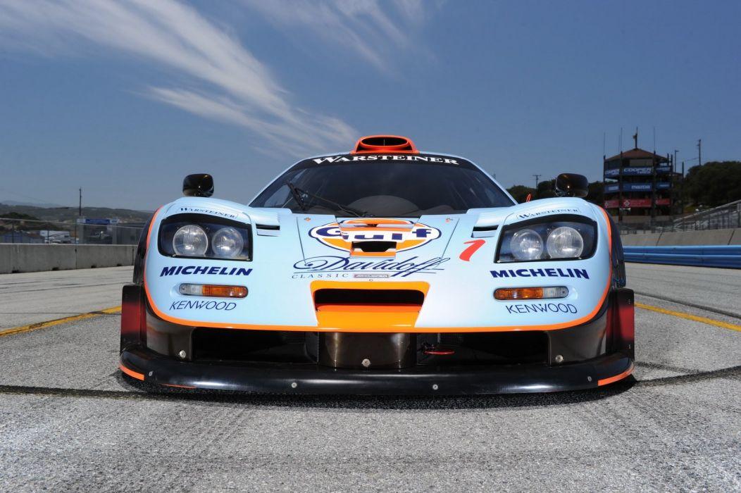 1997 McLaren-F1 GTR Longtail racecars cars wallpaper