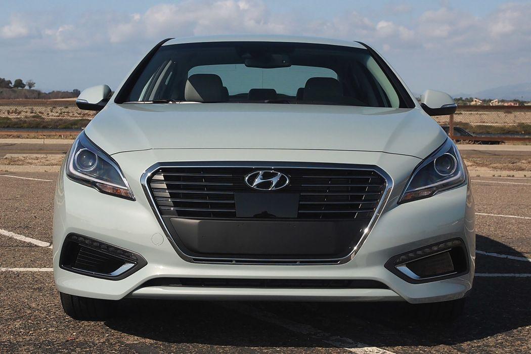 2016 Hyundai Sonata Hybrid cars sedan wallpaper