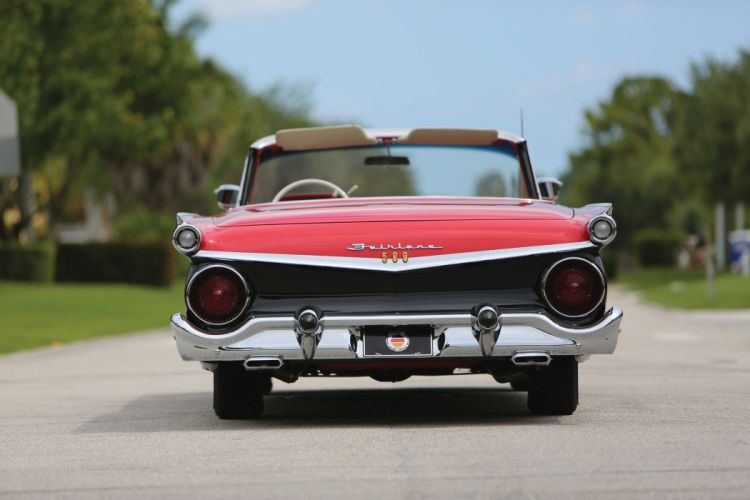 1959 Ford Galaxie Skyliner Retractable Hardtop classic cars wallpaper