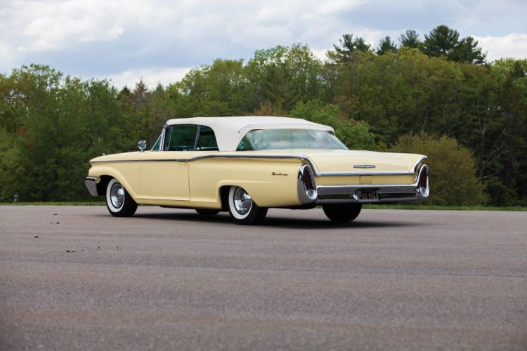 1960 Mercury Monterey Convertible classic cars wallpaper