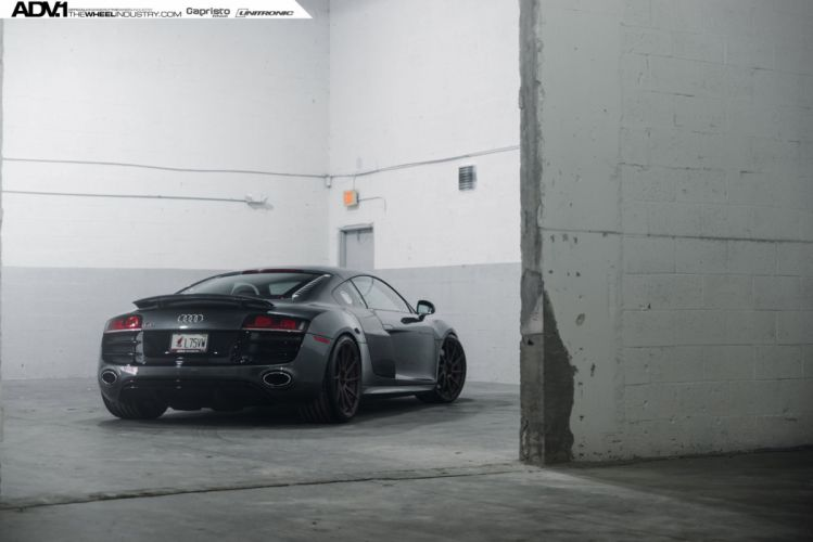 ADV 1 WHEELS GALLERY AUDI-R8 coupe cars supercars tuning wallpaper