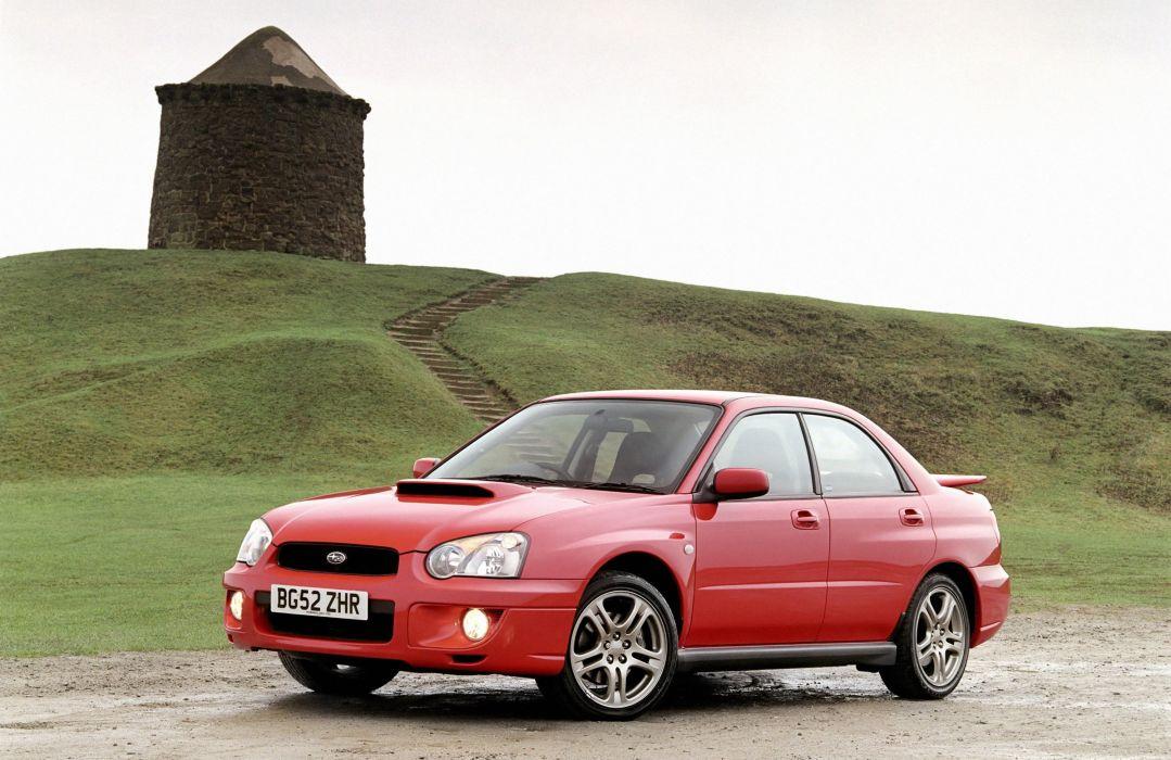 Subaru Impreza WRX UK-spec GDB 2003 cars wallpaper