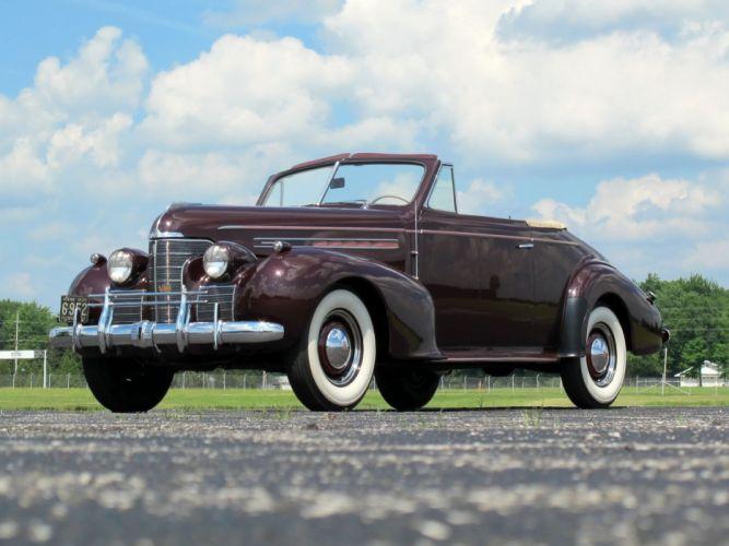 1939 Oldsmobile 80 Convertible cars classic wallpaper