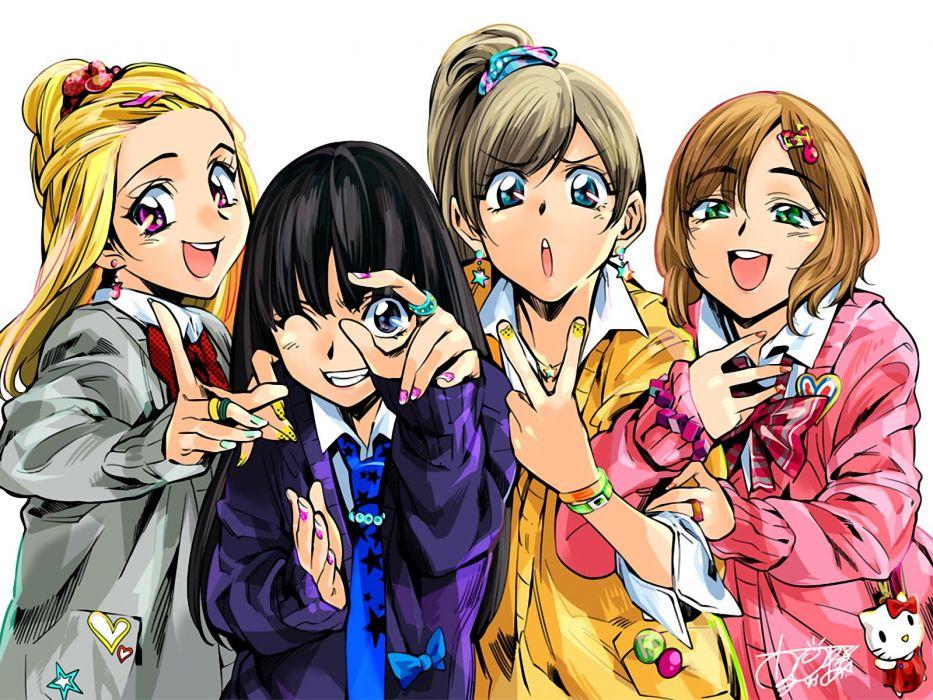 anime cute girls wallpaper