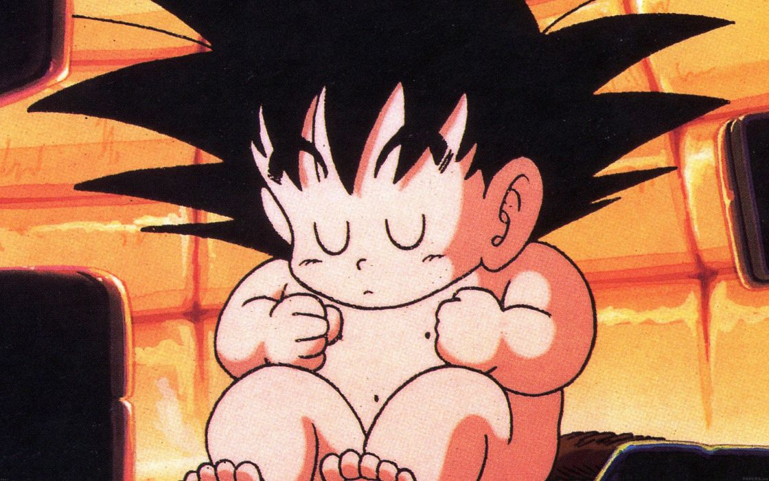 baby goku illust dragon ball character cute wallpaper