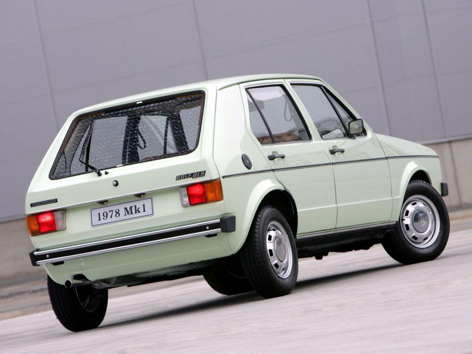 Volkswagen Golf 5-door mk1 cars wallpaper