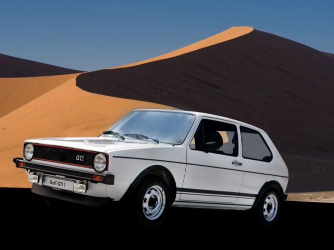 Volkswagen Golf GTI mk1 cars wallpaper