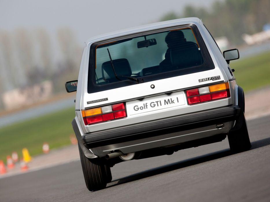 Volkswagen Golf GTI mk1 Pirelli UK-spec cars wallpaper