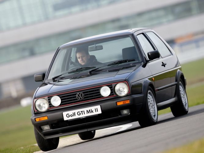 Volkswagen Golf GTI mk2 3-door UK-spec cars wallpaper