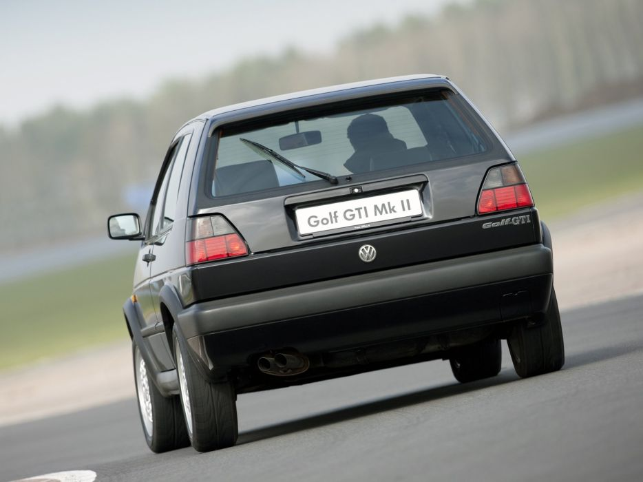 Volkswagen Golf GTI mk2 3-door UK-spec cars wallpaper