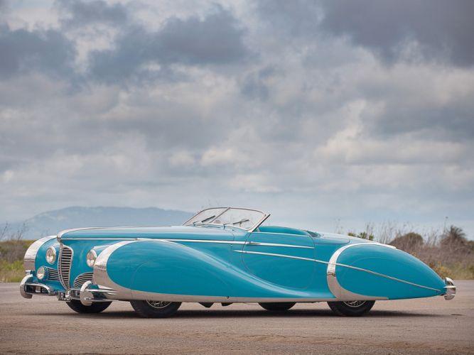 175 1949 delahaye luxury retro roadster saoutchik classic Supercar supercars wallpaper