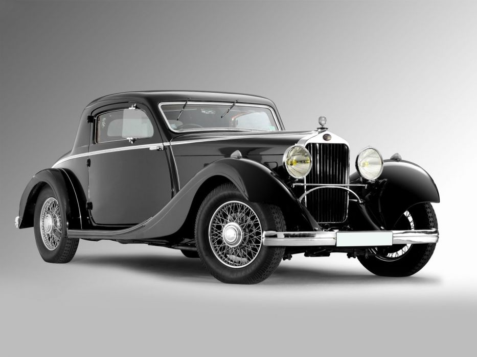 Delage D6-11-S Coupe Brandone 1934 classic cars wallpaper
