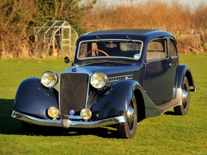Delage D6-60 Sports Saloon Letourneur Marchand 1936 classic cars wallpaper
