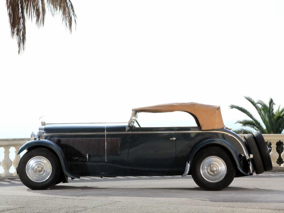 Delage D8 4-seater Sports Tourer par Chapron 1931 classic cars wallpaper