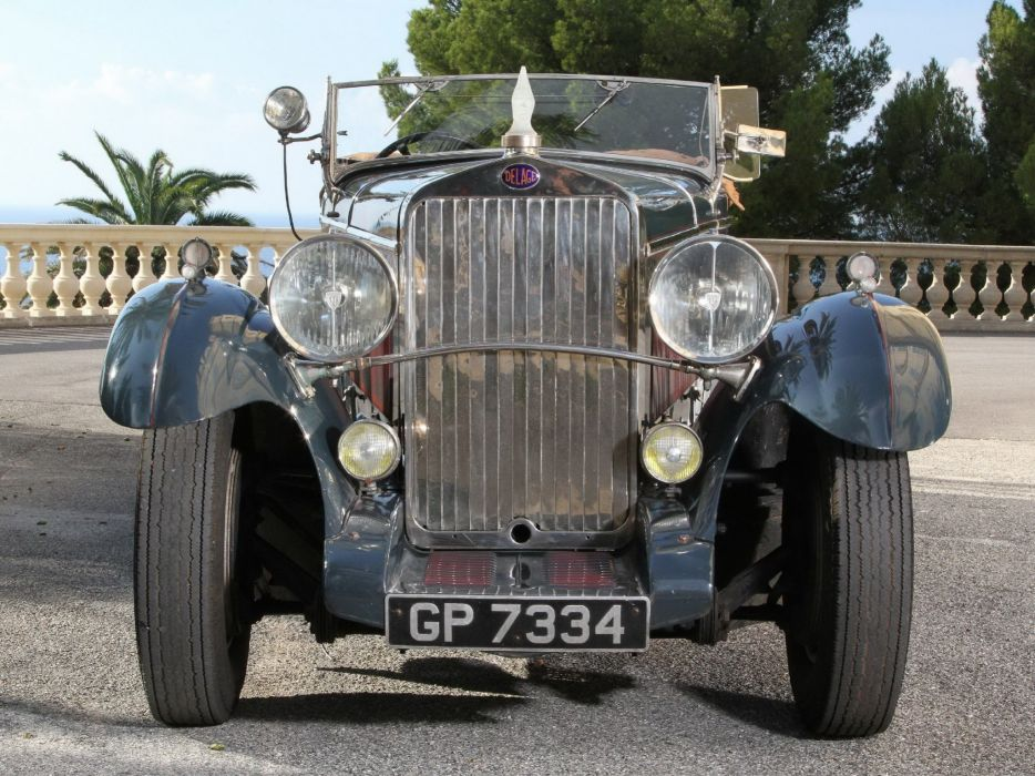 Delage D8 4-seater Sports Tourer par Chapron 1931 classic cars wallpaper