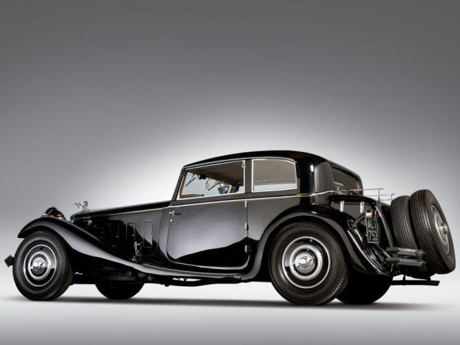 Delage D8S Sports Coupe par Freestone Webb 1933 classic cars wallpaper