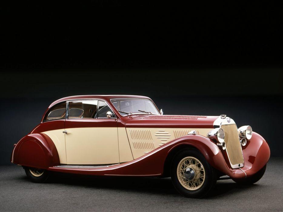 Delage D8 105 Sport Aerodynamic Coupe par Letourneur Marchand 1935 classic cars wallpaper