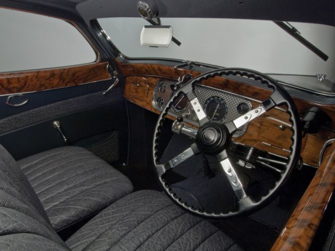 Delage D8 120 Aerosport Coupe par Letourneur Marchand 1937 classic cars wallpaper
