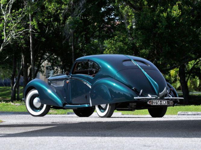 Delage D8 120 Aerodynamique Coupe par Letourneur Marchand 1937 classic cars wallpaper