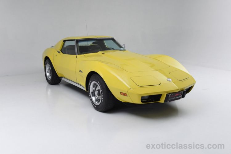 1975 chevrolet corvette c3 muscle cars classic wallpaper