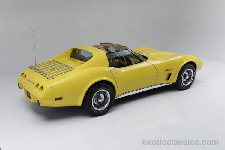 1975 chevrolet corvette c3 muscle cars classic wallpaper