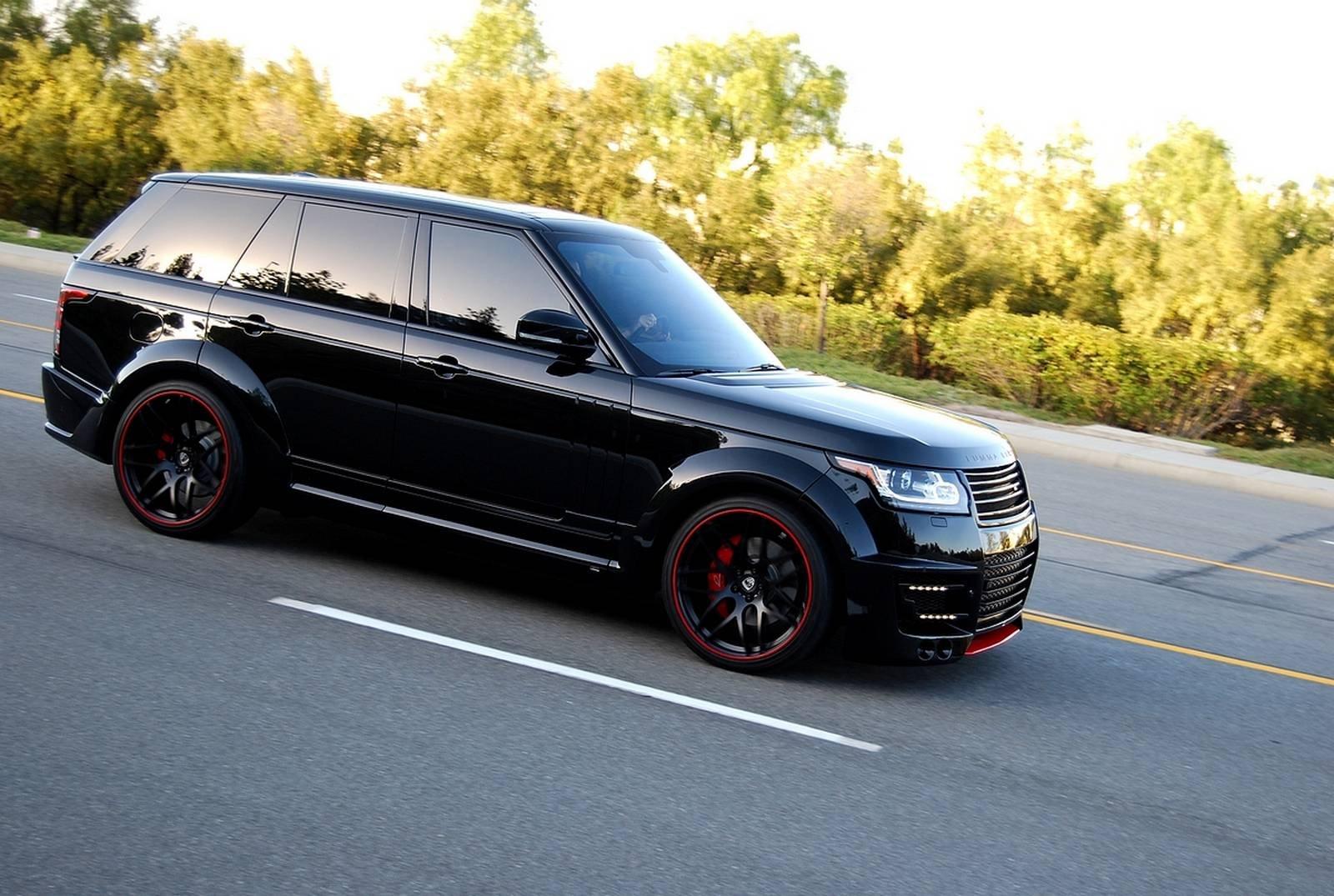 Lumma Design CLR-R Range Rover black cars suv all road ...