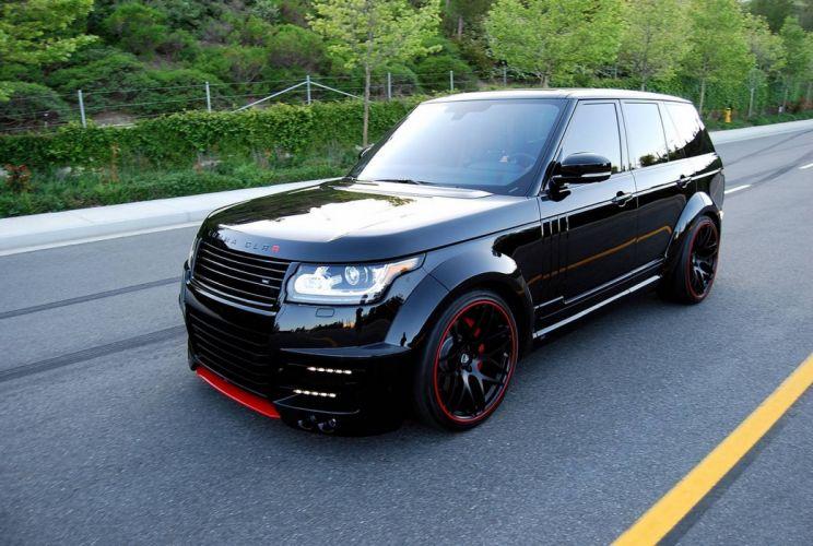 Lumma Design CLR-R Range Rover black cars suv all road modified tuning wallpaper