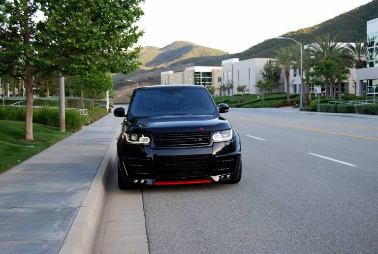 Lumma Design CLR-R Range Rover black cars suv all road modified tuning wallpaper