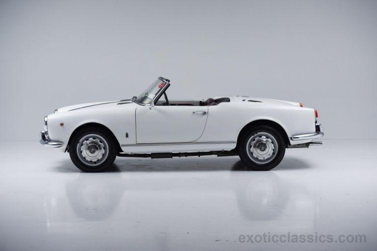 1958 alfa romeo giulietta spider classic cars white wallpaper