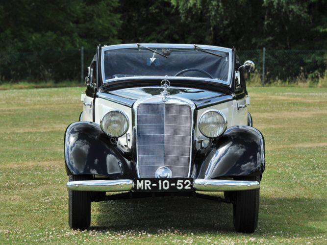 Mercedes Benz 170-V Cabriolet-B cars classic wallpaper