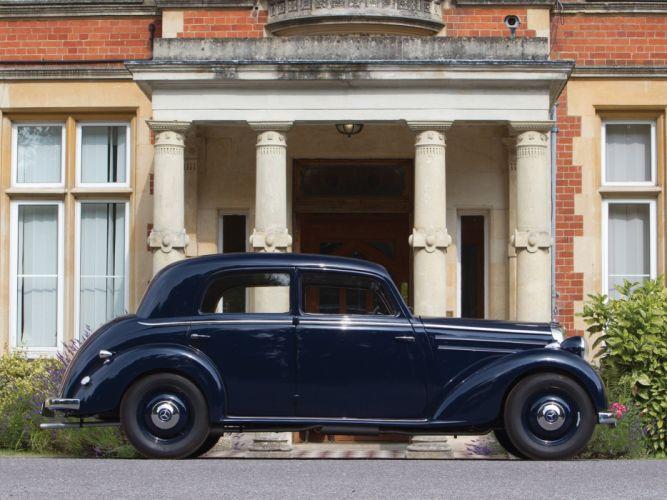 1952 Mercedes Benz 170 DS Limousine cars classic wallpaper