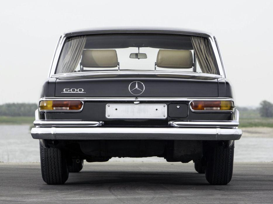 1954 Mercedes Benz 600 4-door pullman limousine cars classic wallpaper