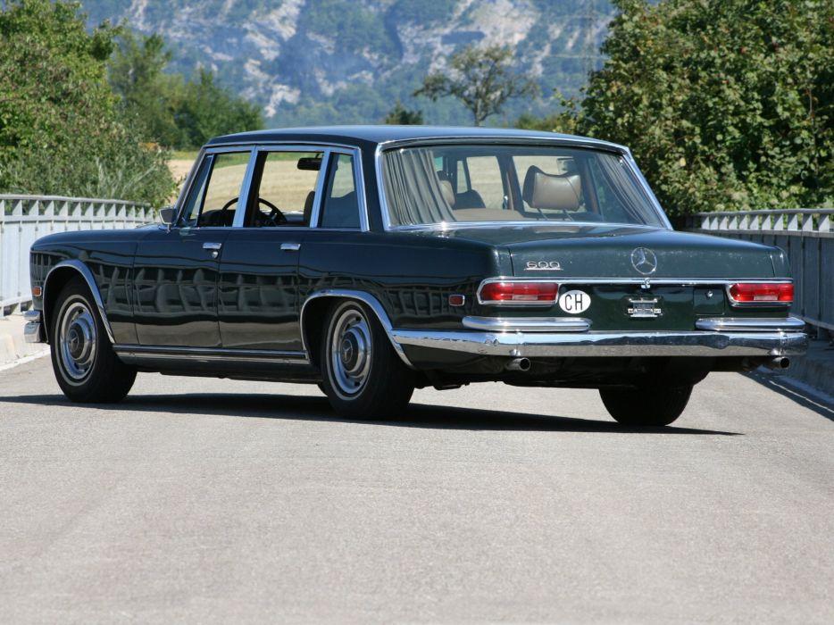 1964 Mercedes Benz 600 US-spec cars classic wallpaper