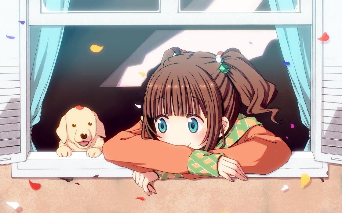 idolmaster anime girl cute wallpaper