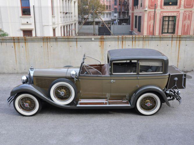 Mercedes Benz 630K Sedanca de Ville by Castagna 1928 classic cars wallpaper