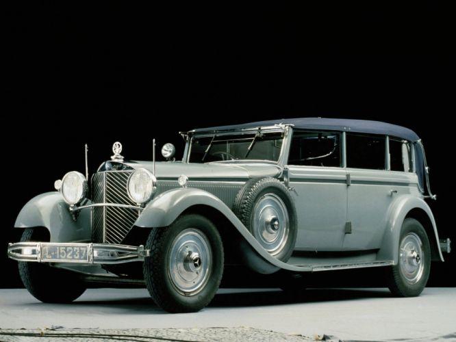 1930 770 benz Cabriolet-f cars classic Mercedes wallpaper