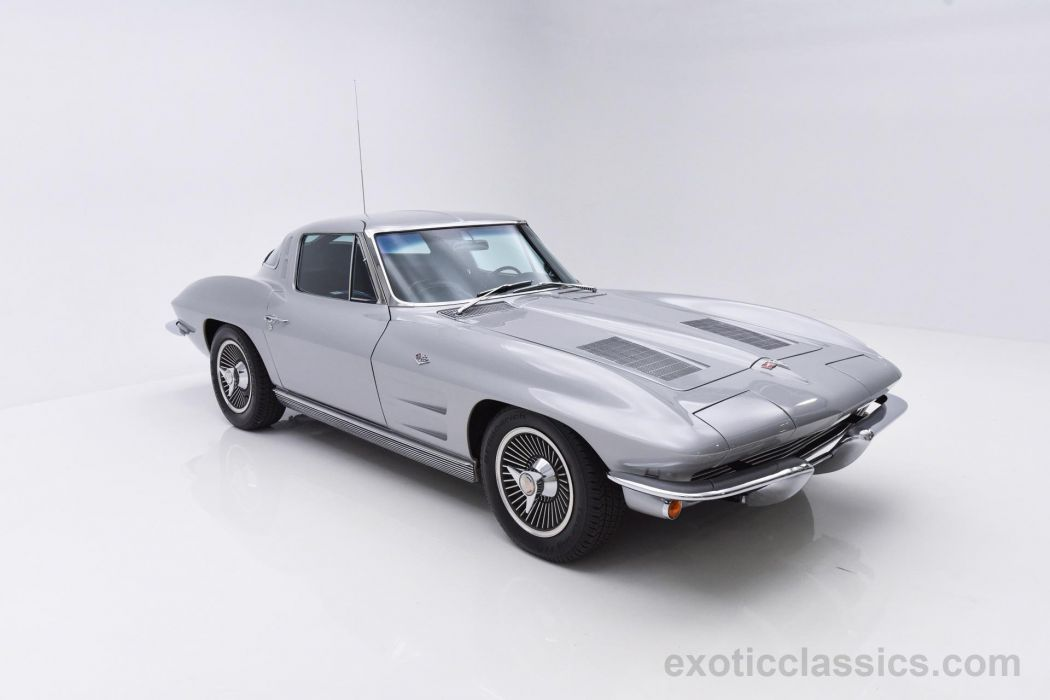 1963 Chevrolet Corvette Split Window coupe classic cars wallpaper