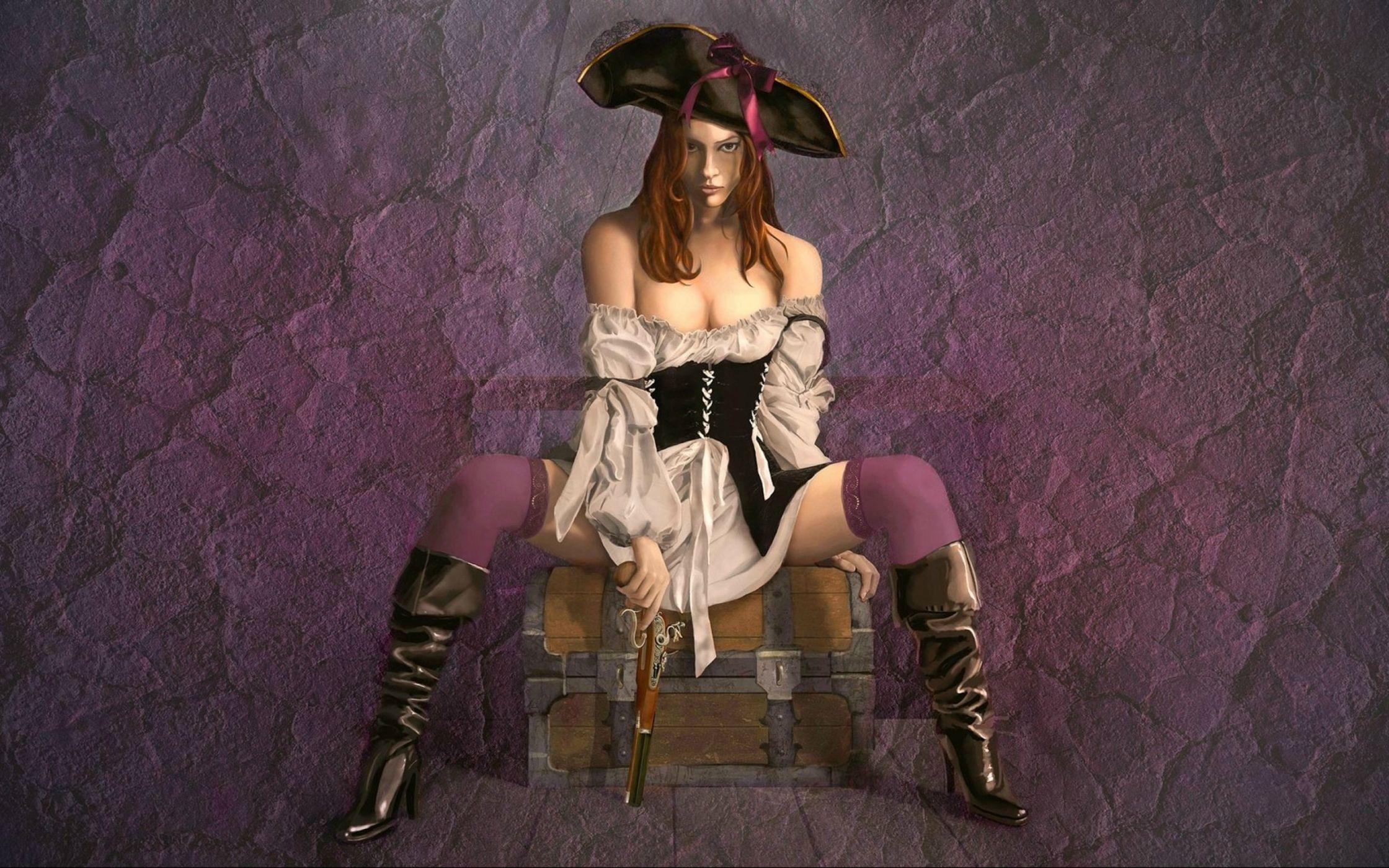 Naked Black Pirates Girls