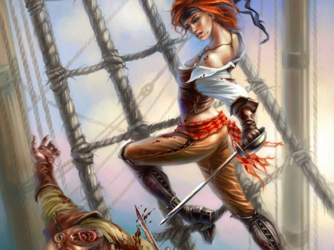 fantasy art artwork artistic original pirate pirates wallpaper
