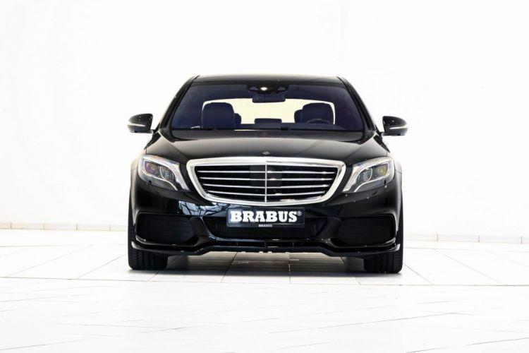 2015 BRABUS Mercedes B50 S500 Hybrid cars modified tuning black wallpaper
