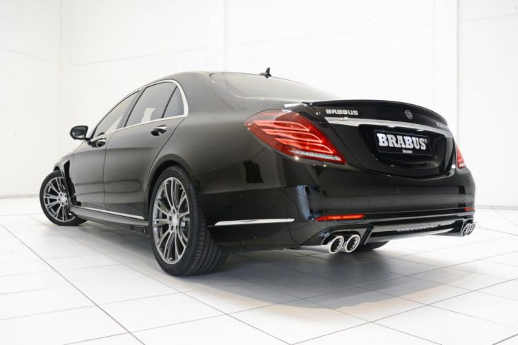 2015 BRABUS Mercedes B50 S500 Hybrid cars modified tuning black wallpaper