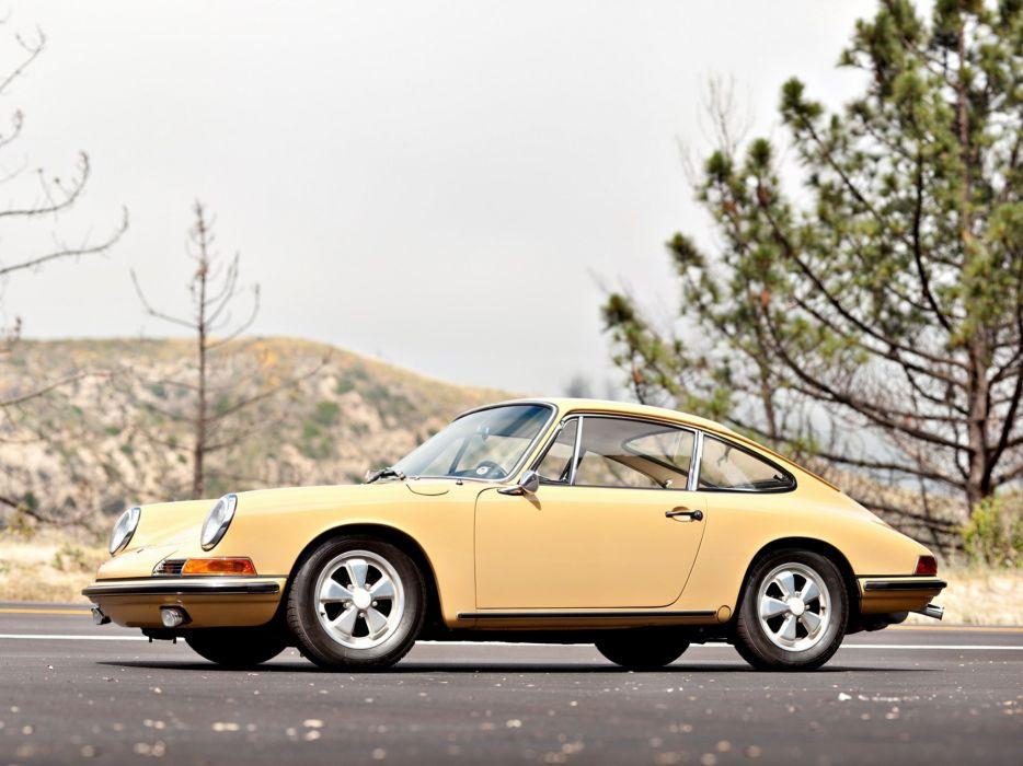 cars classic Porsche 911 S 2 0 Coupe US-spec 901 1966 wallpaper